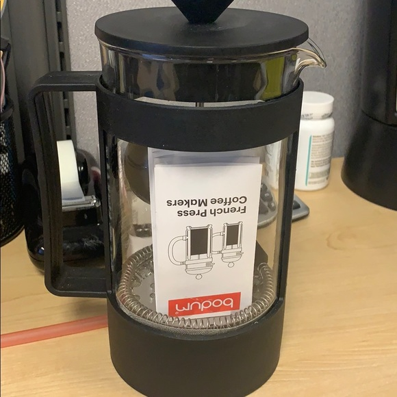 Starbucks Bodum 8 Cup coffee Press with scoop! NWT